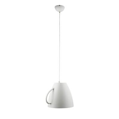 Светильник чашка белая Arte lamp A6601SP-1WH CAFFETTERIAОдиночные<br>Подвесной светильник в виде перевернутой белой чайной чашки будет неотъемлемым предметом интерьера бара. кафе или обеденных зон в доме.<br><br>S освещ. до, м2: 2<br>Тип лампы: накаливания / энергосбережения / LED-светодиодная<br>Тип цоколя: E27<br>Количество ламп: 1<br>Ширина, мм: 300<br>MAX мощность ламп, Вт: 40<br>Длина, мм: 360<br>Высота, мм: 300<br>Цвет арматуры: белый