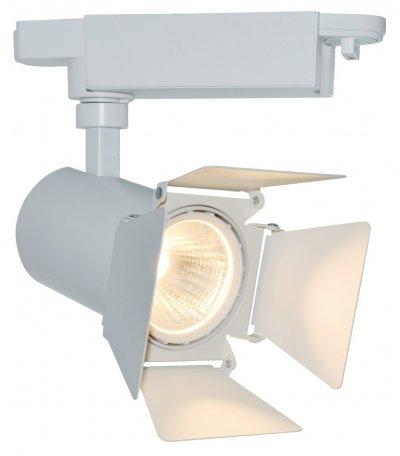 Светильник потолочный Arte lamp A6709PL-1WH TRACK LIGHTSОдиночные<br>Светильники-споты – это оригинальные изделия с современным дизайном. Они позволяют не ограничивать свою фантазию при выборе освещения для интерьера. Такие модели обеспечивают достаточно качественный свет. Благодаря компактным размерам Вы можете использовать несколько спотов для одного помещения. <br>Интернет-магазин «Светодом» предлагает необычный светильник-спот ARTE Lamp A6709PL-1WH по привлекательной цене. Эта модель станет отличным дополнением к люстре, выполненной в том же стиле. Перед оформлением заказа изучите характеристики изделия. <br>Купить светильник-спот ARTE Lamp A6709PL-1WH в нашем онлайн-магазине Вы можете либо с помощью формы на сайте, либо по указанным выше телефонам. Обратите внимание, что у нас склады не только в Москве и Екатеринбурге, но и других городах России.<br><br>Тип цоколя: LED<br>Количество ламп: 1<br>MAX мощность ламп, Вт: 9<br>Размеры: H20xW9xL9<br>Цвет арматуры: белый