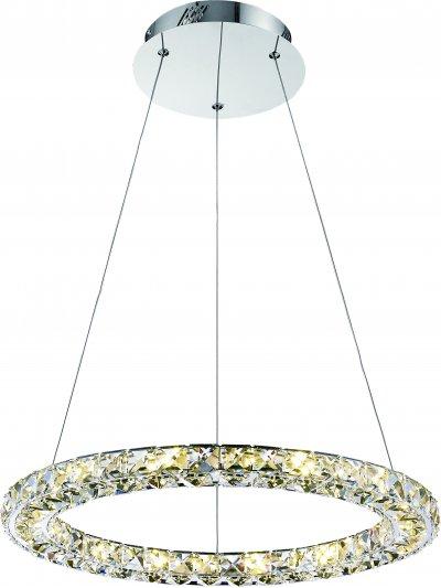 Светильник Arte Lamp A6715SP-1CCподвесные хрустальные люстры<br>Светильник Arte Lamp A6715SP-1CC сделает Ваш интерьер современным, стильным и запоминающимся! Наиболее функционально и эстетически привлекательно модель будет смотреться в гостиной, зале, холле или другой комнате. А в комплекте с настенными бра и торшером из этой же коллекции, сделает интерьер по-дизайнерски профессиональным и законченным.