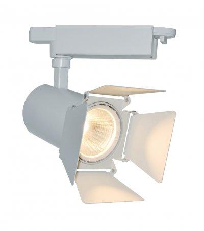 Светильник потолочный Arte lamp A6720PL-1WH TRACK LIGHTSОдиночные<br>Светильники-споты – это оригинальные изделия с современным дизайном. Они позволяют не ограничивать свою фантазию при выборе освещения для интерьера. Такие модели обеспечивают достаточно качественный свет. Благодаря компактным размерам Вы можете использовать несколько спотов для одного помещения.  Интернет-магазин «Светодом» предлагает необычный светильник-спот ARTE Lamp A6720PL-1WH по привлекательной цене. Эта модель станет отличным дополнением к люстре, выполненной в том же стиле. Перед оформлением заказа изучите характеристики изделия.  Купить светильник-спот ARTE Lamp A6720PL-1WH в нашем онлайн-магазине Вы можете либо с помощью формы на сайте, либо по указанным выше телефонам. Обратите внимание, что мы предлагаем доставку не только по Москве и Екатеринбургу, но и всем остальным российским городам.<br><br>Тип цоколя: LED<br>Количество ламп: 1<br>MAX мощность ламп, Вт: 20<br>Размеры: H25xW11xL11<br>Цвет арматуры: белый