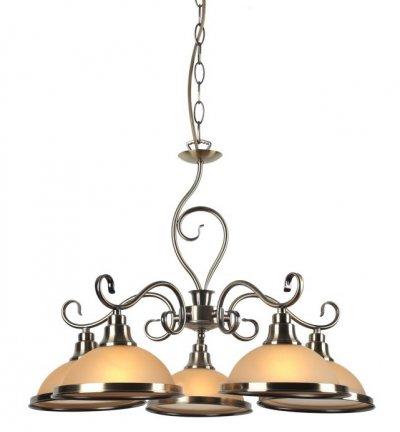 Светильник подвесной Arte lamp A6905LM-5AB SAFARIПодвесные<br>Компания «Светодом» предлагает широкий ассортимент люстр от известных производителей. Представленные в нашем каталоге товары выполнены из современных материалов и обладают отличным качеством. Благодаря широкому ассортименту Вы сможете найти у нас люстру под любой интерьер. Мы предлагаем как классические варианты, так и современные модели, отличающиеся лаконичностью и простотой форм.  Стильная люстра Arte lamp A6905LM-5AB станет украшением любого дома. Эта модель от известного производителя не оставит равнодушным ценителей красивых и оригинальных предметов интерьера. Люстра Arte lamp A6905LM-5AB обеспечит равномерное распределение света по всей комнате. При выборе обратите внимание на характеристики, позволяющие приобрести наиболее подходящую модель. Купить понравившуюся люстру по доступной цене Вы можете в интернет-магазине «Светодом». Мы предлагаем доставку не только по Москве и Екатеринбурге, но и по всей России.<br><br>S освещ. до, м2: 10<br>Тип товара: Светильник подвесной<br>Тип лампы: Накаливания / энергосбережения / светодиодная<br>Тип цоколя: E27<br>Количество ламп: 5<br>MAX мощность ламп, Вт: 40<br>Размеры: H42xW65xL65+шн/цп50<br>Цвет арматуры: античный бронзовый
