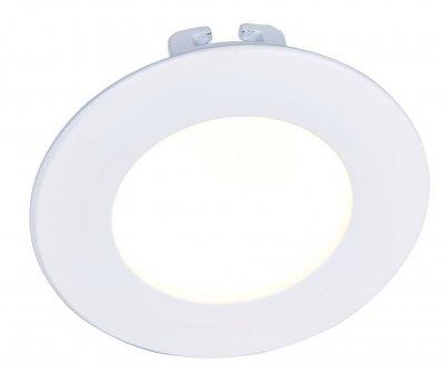 Светильник встраиваемый Arte lamp A7008PL-1WH RIFLESSIONEКруглые LED<br>Встраиваемые светильники – популярное осветительное оборудование, которое можно использовать в качестве основного источника или в дополнение к люстре. Они позволяют создать нужную атмосферу атмосферу и привнести в интерьер уют и комфорт.   Интернет-магазин «Светодом» предлагает стильный встраиваемый светильник ARTE Lamp A7008PL-1WH. Данная модель достаточно универсальна, поэтому подойдет практически под любой интерьер. Перед покупкой не забудьте ознакомиться с техническими параметрами, чтобы узнать тип цоколя, площадь освещения и другие важные характеристики.   Приобрести встраиваемый светильник ARTE Lamp A7008PL-1WH в нашем онлайн-магазине Вы можете либо с помощью «Корзины», либо по контактным номерам. Мы развозим заказы по Москве, Екатеринбургу и остальным российским городам.<br><br>Тип лампы: LED<br>Тип цоколя: LED<br>Цвет арматуры: белый<br>Количество ламп: 1<br>Размеры: H3,5xW11xL11<br>MAX мощность ламп, Вт: 8