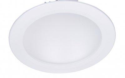 Светильник встраиваемый Arte lamp A7016PL-1WH RIFLESSIONEКруглые LED<br>Встраиваемые светильники – популярное осветительное оборудование, которое можно использовать в качестве основного источника или в дополнение к люстре. Они позволяют создать нужную атмосферу атмосферу и привнести в интерьер уют и комфорт.   Интернет-магазин «Светодом» предлагает стильный встраиваемый светильник ARTE Lamp A7016PL-1WH. Данная модель достаточно универсальна, поэтому подойдет практически под любой интерьер. Перед покупкой не забудьте ознакомиться с техническими параметрами, чтобы узнать тип цоколя, площадь освещения и другие важные характеристики.   Приобрести встраиваемый светильник ARTE Lamp A7016PL-1WH в нашем онлайн-магазине Вы можете либо с помощью «Корзины», либо по контактным номерам. Мы развозим заказы по Москве, Екатеринбургу и остальным российским городам.<br><br>Цветовая t, К: 3000<br>Тип лампы: LED<br>Тип цоколя: LED<br>Цвет арматуры: белый<br>Количество ламп: 1<br>Диаметр, мм мм: 170<br>Диаметр врезного отверстия, мм: 155<br>Высота, мм: 50<br>MAX мощность ламп, Вт: 16
