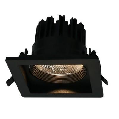 A7018PL-1BK Arte lamp СветильникДаунлайты<br><br><br>Цветовая t, К: 3000K<br>Тип цоколя: LED<br>Количество ламп: 1<br>MAX мощность ламп, Вт: 18W<br>Диаметр, мм мм: 145<br>Размеры: 145*145*100<br>Диаметр врезного отверстия, мм: 11,5x11,5<br>Длина, мм: 145<br>Высота, мм: 100<br>Цвет арматуры: ЧЕРНЫЙ<br>Общая мощность, Вт: 18W