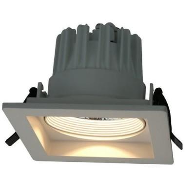 Светильник потолочный Arte lamp A7018PL-1WHСветильники даунлайты<br><br><br>Цветовая t, К: 3000K<br>Тип цоколя: LED<br>Цвет арматуры: БЕЛЫЙ<br>Количество ламп: 1<br>Диаметр, мм мм: 145<br>Размеры: 145*145*100<br>Диаметр врезного отверстия, мм: 11,5x11,5<br>Длина, мм: 145<br>Высота, мм: 100<br>MAX мощность ламп, Вт: 18W<br>Общая мощность, Вт: 18W