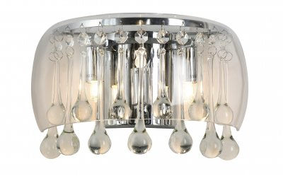 Светильник Arte Lamp A7054AP-3CCсовременные бра модерн<br>Светильник Arte Lamp A7054AP-3CC сделает Ваш интерьер современным, стильным и запоминающимся! Наиболее функционально и эстетически привлекательно модель будет смотреться в гостиной, зале, холле или другой комнате. А в комплекте с люстрой и торшером из этой же коллекции сделает интерьер по-дизайнерски профессиональным и законченным.