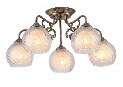 Светильник Arte Lamp A7062PL-5ABлюстры потолочные классические<br>Светильник Arte Lamp A7062PL-5AB сделает Ваш интерьер современным, стильным и запоминающимся! Наиболее функционально и эстетически привлекательно модель будет смотреться в гостиной, зале, холле или другой комнате. А в комплекте с настенными бра и торшером из этой же коллекции, сделает интерьер по-дизайнерски профессиональным и законченным.