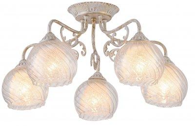 Светильник Arte Lamp A7062PL-5WGлюстры потолочные классические<br>Светильник Arte Lamp A7062PL-5WG сделает Ваш интерьер современным, стильным и запоминающимся! Наиболее функционально и эстетически привлекательно модель будет смотреться в гостиной, зале, холле или другой комнате. А в комплекте с настенными бра и торшером из этой же коллекции, сделает интерьер по-дизайнерски профессиональным и законченным.