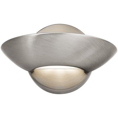 Светильник Arte lamp A7118AP-1SS InteriorХай-тек<br><br><br>Тип лампы: галогенная / LED-светодиодная<br>Тип цоколя: R7S<br>Цвет арматуры: серый<br>Ширина, мм: 230<br>Длина, мм: 170<br>Высота, мм: 110<br>MAX мощность ламп, Вт: 80
