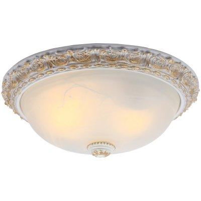 Светильник Arte lamp A7122PL-2WG TortaПотолочные<br>Компания «Светодом» предлагает широкий ассортимент люстр от известных производителей. Представленные в нашем каталоге товары выполнены из современных материалов и обладают отличным качеством. Благодаря широкому ассортименту Вы сможете найти у нас люстру под любой интерьер. Мы предлагаем как классические варианты, так и современные модели, отличающиеся лаконичностью и простотой форм.  Стильная люстра Arte lamp A7122PL-2WG станет украшением любого дома. Эта модель от известного производителя не оставит равнодушным ценителей красивых и оригинальных предметов интерьера. Люстра Arte lamp A7122PL-2WG обеспечит равномерное распределение света по всей комнате. При выборе обратите внимание на характеристики, позволяющие приобрести наиболее подходящую модель. Купить понравившуюся люстру по доступной цене Вы можете в интернет-магазине «Светодом».<br><br>Установка на натяжной потолок: Ограничено<br>S освещ. до, м2: 8<br>Крепление: Планка<br>Тип лампы: накаливания / энергосбережения / LED-светодиодная<br>Тип цоколя: E27<br>Количество ламп: 2<br>MAX мощность ламп, Вт: 60<br>Диаметр, мм мм: 400<br>Высота, мм: 160<br>Цвет арматуры: белый с золотистой патиной