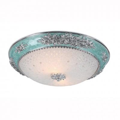 Светильник потолочный Arte lamp A7134PL-2PR TORTA LUXПотолочные<br><br><br>Установка на натяжной потолок: Ограничено<br>S освещ. до, м2: 4<br>Крепление: Планка<br>Тип лампы: Накаливания / энергосбережения / светодиодная<br>Тип цоколя: E27<br>Количество ламп: 2<br>MAX мощность ламп, Вт: 40<br>Диаметр, мм мм: 400<br>Размеры: H10xW40xL40<br>Высота, мм: 100<br>Цвет арматуры: серебристый