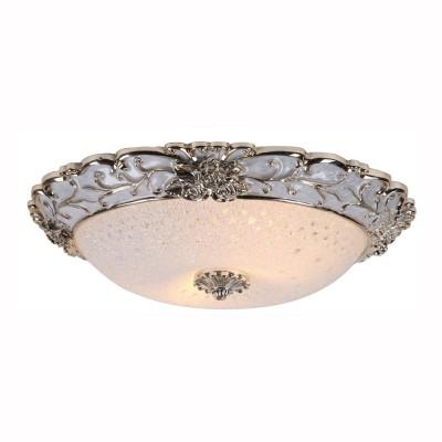 Светильник потолочный Arte lamp A7135PL-2WH TORTA LUXПотолочные<br><br><br>Установка на натяжной потолок: Ограничено<br>S освещ. до, м2: 4<br>Тип цоколя: E27<br>Цвет арматуры: белый<br>Количество ламп: 2<br>Диаметр, мм мм: 400<br>Размеры: H10xW40xL40<br>Высота, мм: 100<br>MAX мощность ламп, Вт: 40