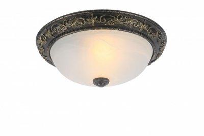 Светильник Arte lamp A7162PL-2AB TortaПотолочные<br><br><br>Установка на натяжной потолок: Ограничено<br>S освещ. до, м2: 8<br>Крепление: Планка<br>Тип товара: Светильник<br>Скидка, %: 9<br>Тип лампы: накаливания / энергосбережения / LED-светодиодная<br>Тип цоколя: E27<br>Количество ламп: 2<br>MAX мощность ламп, Вт: 60<br>Диаметр, мм мм: 420<br>Высота, мм: 160