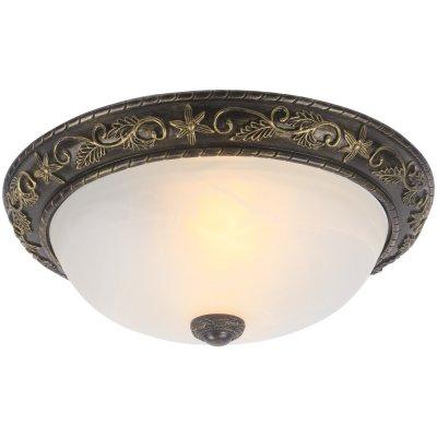 Светильник Arte lamp A7162PL-2AB TortaПотолочные<br>Компания «Светодом» предлагает широкий ассортимент люстр от известных производителей. Представленные в нашем каталоге товары выполнены из современных материалов и обладают отличным качеством. Благодаря широкому ассортименту Вы сможете найти у нас люстру под любой интерьер. Мы предлагаем как классические варианты, так и современные модели, отличающиеся лаконичностью и простотой форм.  Стильная люстра Arte lamp A7162PL-2AB станет украшением любого дома. Эта модель от известного производителя не оставит равнодушным ценителей красивых и оригинальных предметов интерьера. Люстра Arte lamp A7162PL-2AB обеспечит равномерное распределение света по всей комнате. При выборе обратите внимание на характеристики, позволяющие приобрести наиболее подходящую модель. Купить понравившуюся люстру по доступной цене Вы можете в интернет-магазине «Светодом».<br><br>Установка на натяжной потолок: Ограничено<br>S освещ. до, м2: 8<br>Крепление: Планка<br>Тип лампы: накаливания / энергосбережения / LED-светодиодная<br>Тип цоколя: E27<br>Количество ламп: 2<br>MAX мощность ламп, Вт: 60<br>Диаметр, мм мм: 420<br>Высота, мм: 160