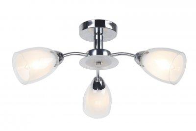 Светильник потолочный Arte lamp A7201PL-3CC CARMELAПотолочные<br>Компания «Светодом» предлагает широкий ассортимент люстр от известных производителей. Представленные в нашем каталоге товары выполнены из современных материалов и обладают отличным качеством. Благодаря широкому ассортименту Вы сможете найти у нас люстру под любой интерьер. Мы предлагаем как классические варианты, так и современные модели, отличающиеся лаконичностью и простотой форм.  Стильная люстра Arte lamp A7201PL-3CC станет украшением любого дома. Эта модель от известного производителя не оставит равнодушным ценителей красивых и оригинальных предметов интерьера. Люстра Arte lamp A7201PL-3CC обеспечит равномерное распределение света по всей комнате. При выборе обратите внимание на характеристики, позволяющие приобрести наиболее подходящую модель. Купить понравившуюся люстру по доступной цене Вы можете в интернет-магазине «Светодом».<br><br>Установка на натяжной потолок: Ограничено<br>S освещ. до, м2: 6<br>Крепление: Планка<br>Тип цоколя: E14<br>Количество ламп: 3<br>MAX мощность ламп, Вт: 40<br>Размеры: H23xW50xL50<br>Цвет арматуры: серебристый