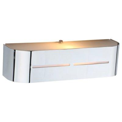 Светильник Arte lamp A7210AP-1CC COSMOPOLITANХай-тек<br><br><br>Тип лампы: Накаливания / энергосбережения / светодиодная<br>Тип цоколя: E14<br>Цвет арматуры: серебристый<br>Количество ламп: 1<br>Ширина, мм: 80<br>Длина, мм: 300<br>Высота, мм: 80<br>MAX мощность ламп, Вт: 40