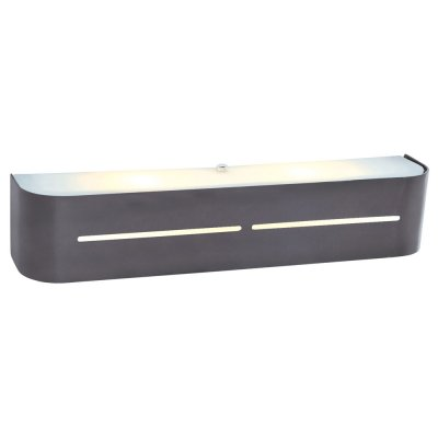 Светильник Arte lamp A7210AP-2BK COSMOPOLITANХай-тек<br><br><br>Тип цоколя: E14<br>Количество ламп: 2<br>Ширина, мм: 80<br>Длина, мм: 400<br>Высота, мм: 80<br>MAX мощность ламп, Вт: 40