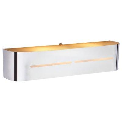 Светильник Arte lamp A7210AP-2CC COSMOPOLITANХай-тек<br><br><br>Тип цоколя: E14<br>Количество ламп: 2<br>Ширина, мм: 80<br>MAX мощность ламп, Вт: 40<br>Длина, мм: 400<br>Высота, мм: 80