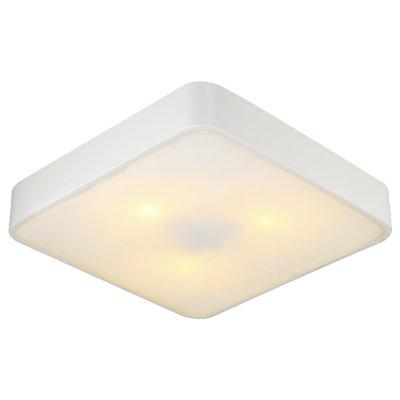 Светильник Arte lamp A7210PL-3WH CosmopolitanКвадратные<br>Настенно-потолочные светильники – это универсальные осветительные варианты, которые подходят для вертикального и горизонтального монтажа. В интернет-магазине «Светодом» Вы можете приобрести подобные модели по выгодной стоимости. В нашем каталоге представлены как бюджетные варианты, так и эксклюзивные изделия от производителей, которые уже давно заслужили доверие дизайнеров и простых покупателей. <br>Настенно-потолочный светильник ARTELamp A7210PL-3WH станет прекрасным дополнением к основному освещению. Благодаря качественному исполнению и применению современных технологий при производстве эта модель будет радовать Вас своим привлекательным внешним видом долгое время. <br>Приобрести настенно-потолочный светильник ARTELamp A7210PL-3WH можно, находясь в любой точке России. Компания «Светодом» осуществляет доставку заказов не только по Москве и Екатеринбургу, но и в остальные города.<br><br>S освещ. до, м2: 9<br>Тип лампы: Накаливания / энергосбережения / светодиодная<br>Тип цоколя: E27<br>Количество ламп: 3<br>MAX мощность ламп, Вт: 60<br>Диаметр, мм мм: 400<br>Высота, мм: 80<br>Цвет арматуры: белый