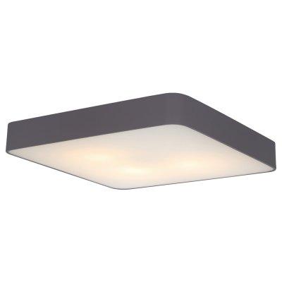 Светильник Arte lamp A7210PL-4BK CosmopolitanКвадратные<br><br><br>S освещ. до, м2: 12<br>Тип товара: Светильник<br>Тип лампы: Накаливания / энергосбережения / светодиодная<br>Тип цоколя: E27<br>Количество ламп: 4<br>MAX мощность ламп, Вт: 60<br>Диаметр, мм мм: 500<br>Высота, мм: 80<br>Цвет арматуры: черный