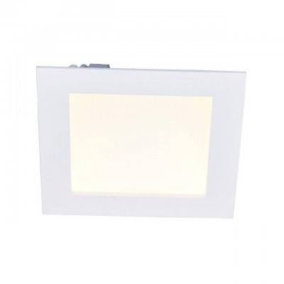 Светильник встраиваемый Arte lamp A7416PL-1WH DOWNLIGHTS LEDСветодиодные квадратные светильники<br>Встраиваемые светильники – популярное осветительное оборудование, которое можно использовать в качестве основного источника или в дополнение к люстре. Они позволяют создать нужную атмосферу атмосферу и привнести в интерьер уют и комфорт.   Интернет-магазин «Светодом» предлагает стильный встраиваемый светильник ARTE Lamp A7416PL-1WH. Данная модель достаточно универсальна, поэтому подойдет практически под любой интерьер. Перед покупкой не забудьте ознакомиться с техническими параметрами, чтобы узнать тип цоколя, площадь освещения и другие важные характеристики.   Приобрести встраиваемый светильник ARTE Lamp A7416PL-1WH в нашем онлайн-магазине Вы можете либо с помощью «Корзины», либо по контактным номерам. Мы развозим заказы по Москве, Екатеринбургу и остальным российским городам.<br><br>Тип лампы: LED<br>Тип цоколя: LED<br>Цвет арматуры: белый<br>Количество ламп: 1<br>Размеры: H5xW17xL17<br>MAX мощность ламп, Вт: 16