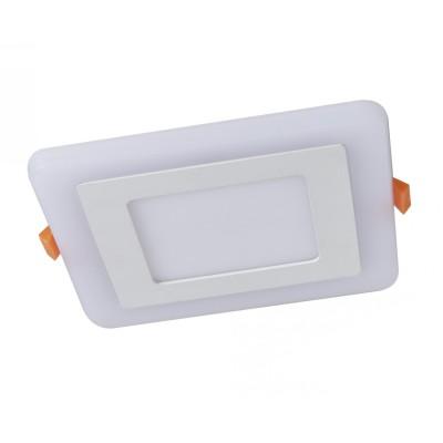 A7506PL-2WH Arte lamp СветильникКвадратные<br><br><br>Цветовая t, К: 3000K/4000K<br>Тип цоколя: LED<br>Цвет арматуры: БЕЛЫЙ<br>Количество ламп: 2<br>Диаметр, мм мм: 105<br>Размеры: 105MM<br>Диаметр врезного отверстия, мм: 7x7<br>Длина, мм: 105<br>Высота, мм: 25<br>MAX мощность ламп, Вт: 3W/3W<br>Общая мощность, Вт: 3 - 3W