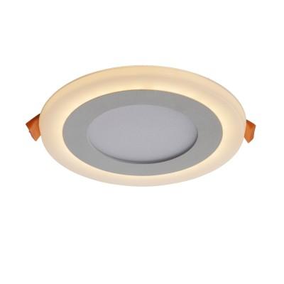 A7606PL-2WH Arte lamp СветильникКруглые<br><br><br>Цветовая t, К: 3000K/4000K<br>Тип цоколя: LED<br>Цвет арматуры: БЕЛЫЙ<br>Количество ламп: 2<br>Диаметр, мм мм: 105<br>Размеры: 105MM<br>Диаметр врезного отверстия, мм: 7<br>Длина, мм: 105<br>Высота, мм: 25<br>MAX мощность ламп, Вт: 3W/3W<br>Общая мощность, Вт: 3 - 3W