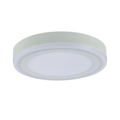 A7824PL-2WH Arte lamp СветильникКруглые<br><br><br>Цветовая t, К: 3000K/4000K<br>Тип цоколя: LED<br>Количество ламп: 2<br>MAX мощность ламп, Вт: 18W/6W<br>Диаметр, мм мм: 245<br>Размеры: 242MM<br>Длина, мм: 245<br>Высота, мм: 36<br>Цвет арматуры: БЕЛЫЙ<br>Общая мощность, Вт: 18 - 6W