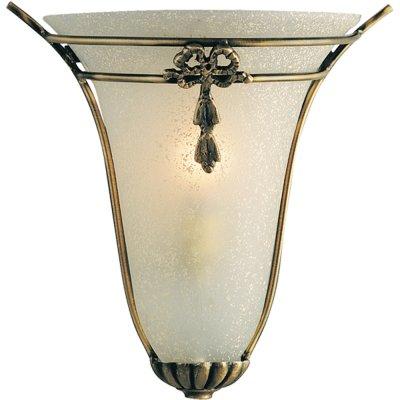 Светильник бра Arte Lamp A7845AP-1AB VitrageРустика<br><br><br>S освещ. до, м2: 4<br>Тип лампы: накаливания / энергосбережения / LED-светодиодная<br>Тип цоколя: E14<br>Количество ламп: 1<br>Ширина, мм: 240<br>MAX мощность ламп, Вт: 60<br>Диаметр, мм мм: 150<br>Высота, мм: 280<br>Цвет арматуры: бронзовый