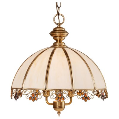 Люстра подвесная Arte lamp A7862SP-3AB CopperlandПодвесные<br><br><br>Установка на натяжной потолок: Да<br>S освещ. до, м2: 12<br>Крепление: Крюк<br>Тип товара: Люстра подвесная<br>Скидка, %: 46<br>Тип лампы: накаливания / энергосбережения / LED-светодиодная<br>Тип цоколя: E14<br>Количество ламп: 3<br>Ширина, мм: 400<br>MAX мощность ламп, Вт: 60<br>Диаметр, мм мм: 400<br>Длина цепи/провода, мм: 1100<br>Высота, мм: 420<br>Цвет арматуры: бронзовый