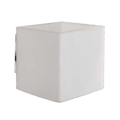 Светильник бра Arte Lamp A7864AP-1WH InteriorСовременные<br><br><br>S освещ. до, м2: 3<br>Тип лампы: галогенная / LED-светодиодная<br>Тип цоколя: G9<br>Цвет арматуры: белый<br>Количество ламп: 1<br>Ширина, мм: 80<br>Диаметр, мм мм: 100<br>Высота, мм: 90<br>MAX мощность ламп, Вт: 40