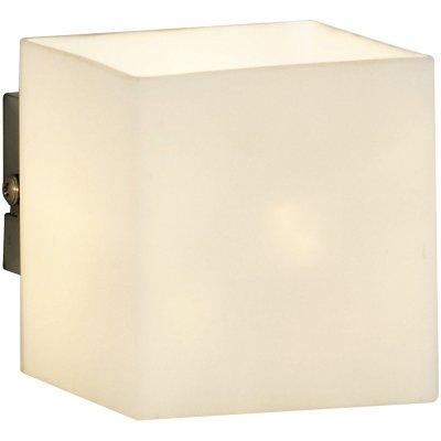 Светильник бра Arte Lamp A7864AP-1WH InteriorМодерн<br><br><br>S освещ. до, м2: 3<br>Тип лампы: галогенная / LED-светодиодная<br>Тип цоколя: G9<br>Количество ламп: 1<br>Ширина, мм: 80<br>MAX мощность ламп, Вт: 40<br>Диаметр, мм мм: 100<br>Высота, мм: 90<br>Цвет арматуры: белый