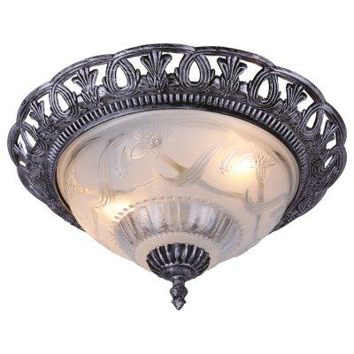 Светильник Arte lamp A8001PL-2SB Piattiлюстры потолочные классические<br>Отличную модель светильника Arte lamp A8001PL-2SB из серии PIATTI производства Италии возможно купить оптом и в розницу на официальном сайте интернет-магазина Светодом.<br><br>Установка на натяжной потолок: Ограничено<br>S освещ. до, м2: 2<br>Крепление: Планка<br>Тип лампы: накаливания / энергосбережения / LED-светодиодная<br>Тип цоколя: E27<br>Цвет арматуры: черный (серебро)<br>Количество ламп: 1<br>Диаметр, мм мм: 350<br>Высота, мм: 170<br>MAX мощность ламп, Вт: 40