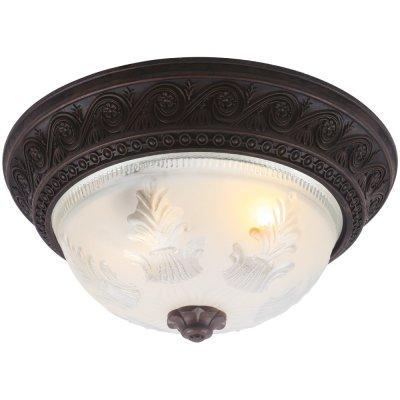 Потолочный светильник Arte lamp A8006PL-2CK PiattiПотолочные<br>Компания «Светодом» предлагает широкий ассортимент люстр от известных производителей. Представленные в нашем каталоге товары выполнены из современных материалов и обладают отличным качеством. Благодаря широкому ассортименту Вы сможете найти у нас люстру под любой интерьер. Мы предлагаем как классические варианты, так и современные модели, отличающиеся лаконичностью и простотой форм.  Стильная люстра Arte lamp A8006PL-2CK станет украшением любого дома. Эта модель от известного производителя не оставит равнодушным ценителей красивых и оригинальных предметов интерьера. Люстра Arte lamp A8006PL-2CK обеспечит равномерное распределение света по всей комнате. При выборе обратите внимание на характеристики, позволяющие приобрести наиболее подходящую модель. Купить понравившуюся люстру по доступной цене Вы можете в интернет-магазине «Светодом».<br><br>Установка на натяжной потолок: Ограничено<br>S освещ. до, м2: 6<br>Крепление: Планка<br>Тип лампы: накаливания / энергосбережения / LED-светодиодная<br>Тип цоколя: E27<br>Количество ламп: 2<br>MAX мощность ламп, Вт: 60<br>Диаметр, мм мм: 340<br>Высота, мм: 170<br>Оттенок (цвет): Прозрачный<br>Цвет арматуры: коричневый