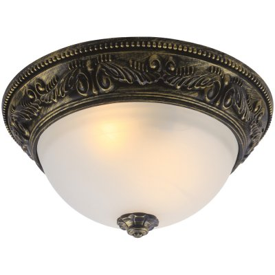 Светильник Arte lamp A8010PL-2AB PiattiПотолочные<br>Компания «Светодом» предлагает широкий ассортимент люстр от известных производителей. Представленные в нашем каталоге товары выполнены из современных материалов и обладают отличным качеством. Благодаря широкому ассортименту Вы сможете найти у нас люстру под любой интерьер. Мы предлагаем как классические варианты, так и современные модели, отличающиеся лаконичностью и простотой форм.  Стильная люстра Arte lamp A8010PL-2AB станет украшением любого дома. Эта модель от известного производителя не оставит равнодушным ценителей красивых и оригинальных предметов интерьера. Люстра Arte lamp A8010PL-2AB обеспечит равномерное распределение света по всей комнате. При выборе обратите внимание на характеристики, позволяющие приобрести наиболее подходящую модель. Купить понравившуюся люстру по доступной цене Вы можете в интернет-магазине «Светодом».<br><br>Установка на натяжной потолок: Ограничено<br>S освещ. до, м2: 6<br>Крепление: Планка<br>Тип лампы: накаливания / энергосбережения / LED-светодиодная<br>Тип цоколя: E27<br>Количество ламп: 2<br>MAX мощность ламп, Вт: 60<br>Диаметр, мм мм: 350<br>Высота, мм: 170<br>Цвет арматуры: бронзовый