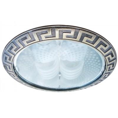 Светильник встраиваемый Arte lamp A8015PL-2AB TechnikaДаунлайты<br><br><br>S освещ. до, м2: 4<br>Тип лампы: накал-я - энергосбер-я<br>Тип цоколя: E27<br>Количество ламп: 2<br>Ширина, мм: 230<br>MAX мощность ламп, Вт: 26<br>Диаметр, мм мм: 230<br>Диаметр врезного отверстия, мм: 215<br>Высота, мм: 115<br>Цвет арматуры: античная бронза/алюминий