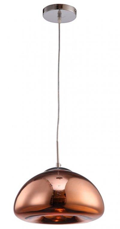 Светильник Arte lamp A8041SP-1RB SwiftПодвесные<br><br><br>Установка на натяжной потолок: Да<br>S освещ. до, м2: 1<br>Крепление: Крюк<br>Тип товара: Светильник<br>Тип лампы: накал-я - энергосбер-я<br>Тип цоколя: E27<br>Количество ламп: 1<br>MAX мощность ламп, Вт: 40<br>Диаметр, мм мм: 300<br>Высота, мм: 180<br>Цвет арматуры: бронзовый