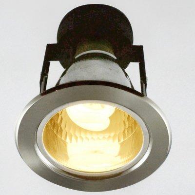 Светильник Arte lamp A8043PL-1SS DownlightsДаунлайты<br><br><br>S освещ. до, м2: 4<br>Тип лампы: только энергосберегающая или LED<br>Тип цоколя: E27<br>Количество ламп: 1<br>Ширина, мм: 112<br>Диаметр, мм мм: 112<br>Диаметр врезного отверстия, мм: 90<br>Высота, мм: 150<br>MAX мощность ламп, Вт: 7