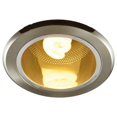 Светильник Arte lamp A8044PL-1SS DownlightsДаунлайты<br><br><br>S освещ. до, м2: 4<br>Тип лампы: только энергосберегающая или LED<br>Тип цоколя: E27<br>Количество ламп: 1<br>Ширина, мм: 150<br>Диаметр, мм мм: 150<br>Диаметр врезного отверстия, мм: 115<br>Высота, мм: 165<br>MAX мощность ламп, Вт: 13