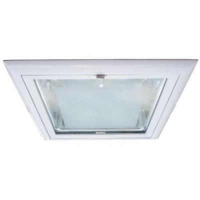 Светильник встраиваемый Arte lamp A8044PL-2WH TechnikaДаунлайты<br><br><br>S освещ. до, м2: 4<br>Тип лампы: накал-я - энергосбер-я<br>Тип цоколя: E27<br>Цвет арматуры: белый/алюминий<br>Количество ламп: 2<br>Ширина, мм: 230<br>Диаметр, мм мм: 230<br>Диаметр врезного отверстия, мм: 210*195<br>Высота, мм: 120<br>MAX мощность ламп, Вт: 26