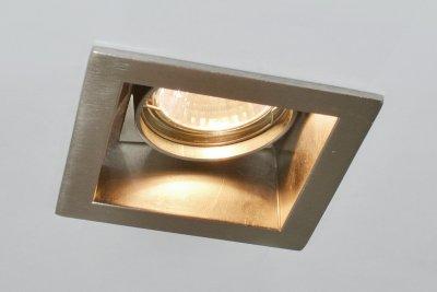 Светильник Arte lamp A8050PL-1SS TechnikaКвадратные<br>Встраиваемые светильники – популярное осветительное оборудование, которое можно использовать в качестве основного источника или в дополнение к люстре. Они позволяют создать нужную атмосферу атмосферу и привнести в интерьер уют и комфорт.   Интернет-магазин «Светодом» предлагает стильный встраиваемый светильник ARTE Lamp A8050PL-1SS. Данная модель достаточно универсальна, поэтому подойдет практически под любой интерьер. Перед покупкой не забудьте ознакомиться с техническими параметрами, чтобы узнать тип цоколя, площадь освещения и другие важные характеристики.   Приобрести встраиваемый светильник ARTE Lamp A8050PL-1SS в нашем онлайн-магазине Вы можете либо с помощью «Корзины», либо по контактным номерам. Мы развозим заказы по Москве, Екатеринбургу и остальным российским городам.<br><br>S освещ. до, м2: 4<br>Тип лампы: галогенная<br>Тип цоколя: GU10<br>Количество ламп: 1<br>Ширина, мм: 92<br>Диаметр, мм мм: 92<br>Диаметр врезного отверстия, мм: 77<br>Высота, мм: 130<br>MAX мощность ламп, Вт: 50