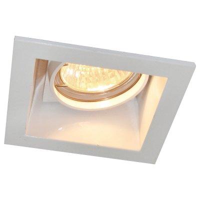 Светильник белый Arte lamp A8050PL-1WH TechnikaКвадратные<br>Встраиваемые светильники – популярное осветительное оборудование, которое можно использовать в качестве основного источника или в дополнение к люстре. Они позволяют создать нужную атмосферу атмосферу и привнести в интерьер уют и комфорт.   Интернет-магазин «Светодом» предлагает стильный встраиваемый светильник ARTE Lamp A8050PL-1WH. Данная модель достаточно универсальна, поэтому подойдет практически под любой интерьер. Перед покупкой не забудьте ознакомиться с техническими параметрами, чтобы узнать тип цоколя, площадь освещения и другие важные характеристики.   Приобрести встраиваемый светильник ARTE Lamp A8050PL-1WH в нашем онлайн-магазине Вы можете либо с помощью «Корзины», либо по контактным номерам. Мы развозим заказы по Москве, Екатеринбургу и остальным российским городам.<br><br>S освещ. до, м2: 4<br>Тип лампы: галогенная<br>Тип цоколя: GU10<br>Количество ламп: 1<br>Ширина, мм: 92<br>MAX мощность ламп, Вт: 50<br>Диаметр, мм мм: 92<br>Диаметр врезного отверстия, мм: 77<br>Высота, мм: 130