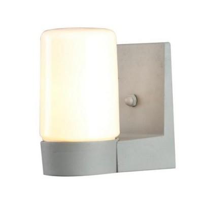 Светильник уличный Arte lamp A8058AL-1GY SpassoУличные настенные светильники<br><br><br>Тип цоколя: E27<br>Цвет арматуры: СЕРЫЙ<br>Количество ламп: 1<br>Диаметр, мм мм: 110<br>Размеры: 14.8*8.8*16.6<br>Длина, мм: 150<br>Высота, мм: 170<br>MAX мощность ламп, Вт: 40W<br>Общая мощность, Вт: 40W