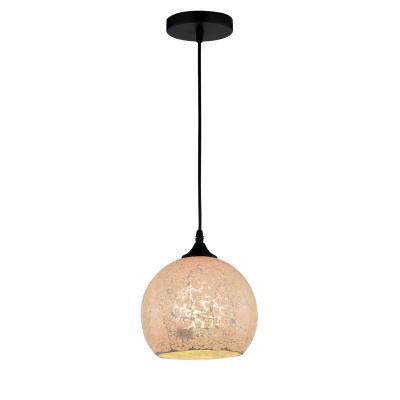 Светильник подвесной Arte lamp A8073SP-1BK Spumanteодиночные подвесные светильники<br><br><br>Крепление: Планка<br>Тип цоколя: E27<br>Цвет арматуры: ЧЕРНЫЙ<br>Количество ламп: 1<br>Диаметр, мм мм: 200<br>Размеры: D200<br>Длина цепи/провода, мм: 1000<br>Длина, мм: 200<br>Высота, мм: 170<br>MAX мощность ламп, Вт: 40W<br>Общая мощность, Вт: 40W