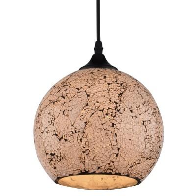 Светильник подвесной Arte lamp A8074SP-1BK Spumanteлюстры подвесные тиффани<br><br><br>S освещ. до, м2: 2<br>Крепление: Планка<br>Тип лампы: накаливания / энергосбережения / LED-светодиодная<br>Тип цоколя: E27<br>Цвет арматуры: ЧЕРНЫЙ<br>Количество ламп: 1<br>Диаметр, мм мм: 200<br>Длина цепи/провода, мм: 1000<br>Размеры: D200<br>Длина, мм: 200<br>Высота, мм: 170<br>MAX мощность ламп, Вт: 40W<br>Общая мощность, Вт: 40W