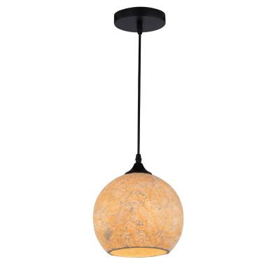 Светильник подвесной Arte lamp A8076SP-1BK Spumanteлюстры подвесные тиффани<br><br><br>S освещ. до, м2: 2<br>Крепление: Планка<br>Тип лампы: накаливания / энергосбережения / LED-светодиодная<br>Тип цоколя: E27<br>Цвет арматуры: ЧЕРНЫЙ<br>Количество ламп: 1<br>Диаметр, мм мм: 200<br>Длина цепи/провода, мм: 1000<br>Размеры: D200<br>Длина, мм: 200<br>Высота, мм: 170<br>MAX мощность ламп, Вт: 40W<br>Общая мощность, Вт: 40W