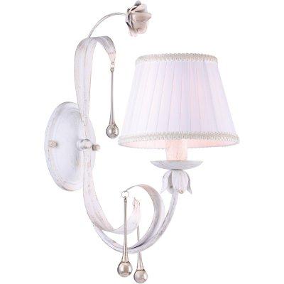 Светильник Arte lamp A8100AP-1WG BorgiaСовременные<br><br><br>Тип лампы: накаливания / энергосбережения / LED-светодиодная<br>Тип цоколя: E14<br>Ширина, мм: 200<br>MAX мощность ламп, Вт: 40<br>Длина, мм: 390<br>Высота, мм: 450<br>Цвет арматуры: белый