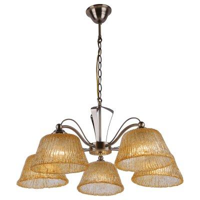 Люстра Arte lamp A8108LM-5AB DolceПодвесные<br>Отличную модель светильника Arte lamp A8108LM-5AB из серии DOLCE производства Италии возможно купить оптом и в розницу на официальном сайте интернет-магазина Светодом.<br><br>Установка на натяжной потолок: Да<br>S освещ. до, м2: 20<br>Крепление: Крюк<br>Тип лампы: накаливания / энергосбережения / LED-светодиодная<br>Тип цоколя: E27<br>Количество ламп: 5<br>MAX мощность ламп, Вт: 60<br>Диаметр, мм мм: 64<br>Высота, мм: 28