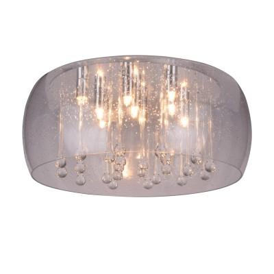 A8145PL-9CC Arte lamp СветильникПотолочные<br><br><br>Установка на натяжной потолок: Ограничено<br>S освещ. до, м2: 13<br>Цветовая t, К: 2700K<br>Тип лампы: галогенная/LED<br>Тип цоколя: G9<br>Количество ламп: 9<br>MAX мощность ламп, Вт: 28W<br>Диаметр, мм мм: 500<br>Длина, мм: 500<br>Высота, мм: 200<br>Цвет арматуры: Серебристый хром<br>Общая мощность, Вт: 28W