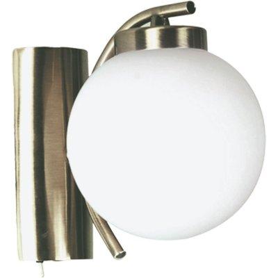 Светильник бра Arte lamp A8170AP-1AB CloudМодерн<br><br><br>S освещ. до, м2: 3<br>Тип лампы: накаливания / энергосбережения / LED-светодиодная<br>Тип цоколя: E14<br>Количество ламп: 1<br>Ширина, мм: 140<br>MAX мощность ламп, Вт: 40<br>Диаметр, мм мм: 170<br>Расстояние от стены, мм: 170<br>Высота, мм: 160<br>Цвет арматуры: бронзовый